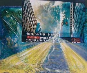Diciotto anni fa l'attentato dell'11 settembre: l'arte commemora con Francesco Guadagnuolo