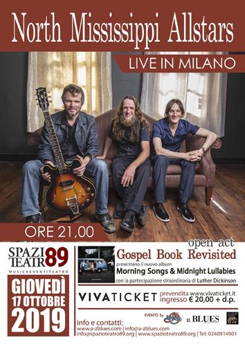 I North Mississippi Allstars faranno tappa a Milano per presentare il nuovo disco