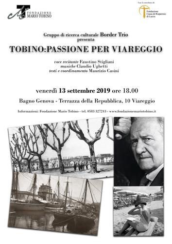 Tobino, passione per Viareggio. Incontro con Il Border Trio