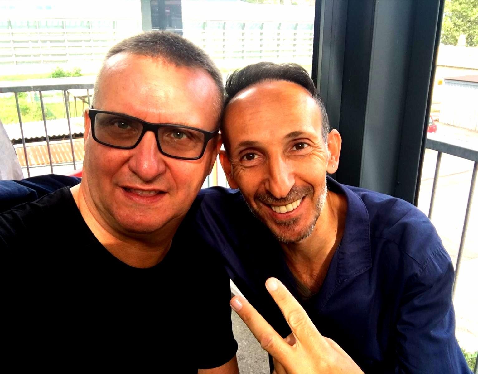 Il video blogger Lambrenedetto XVI incontra Luca Maris