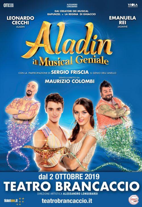 Aladin, il musical geniale in scena al Teatro Brancaccio di Roma