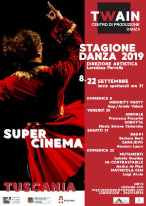 Focus Giovani di Twain Centro Produzione Danza con ATCL Lazio e Vera Stasi, tre giorni di nuova autorialità italiana ed europea