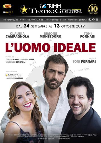 """""""L'uomo ideale"""", lo spettacolo in scena al Teatro Golden di Roma"""