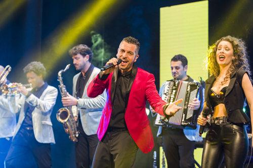 Mirko Casadei in concerto a Suzzara nell'ambito della 22° edizione del Festival SconfinArt