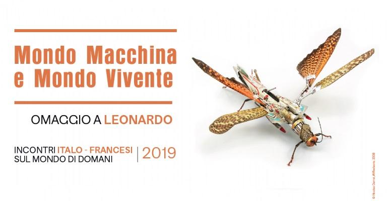 Mondo macchina e mondo vivente: un ciclo per Leonardo che mette a confronto Francia e Italia sulle sfide del domani