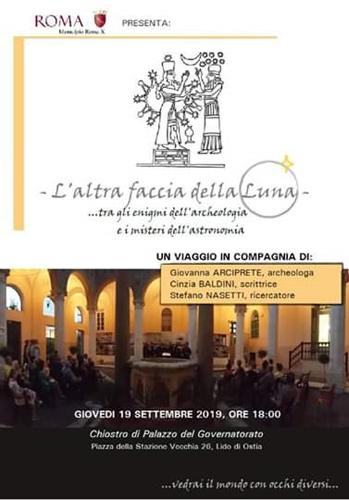 Enigmi e misteri tra archeologia e astronomia giovedì al Chiostro del Palazzo del Governatorato di Ostia