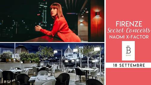 Naomi Rivieccio in concerto al B Roof di Firenze