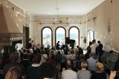 Piano City Palermo: al via il festival di pianoforte con il concerto al call center Almaviva con Mario Bellavista