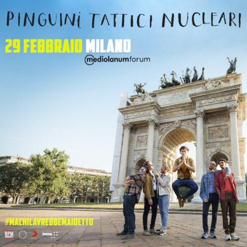 Pinguini Tattici Nucleari, il primo Forum e il primo Disco d'Oro