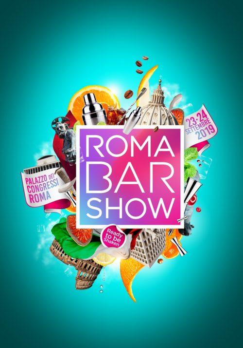 Roma Bar Show, il 23 e il 24 settembre 2019 al via la prima edizione dell'evento internazionale del mondo beverage