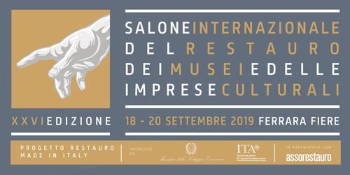 Al via la XXVI edizione del Salone Internazionale del Restauro, dei Musei e delle Imprese Culturali a Ferrara Fiere