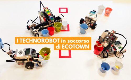 Technotown a Villa Torlonia. Le attività dal 27 al 29 settembre e novità I Technorobot in soccorso di Ecotown
