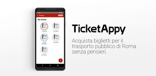 Nasce TicketAppy: a Roma il biglietto Metro e Bus è sullo smartphone