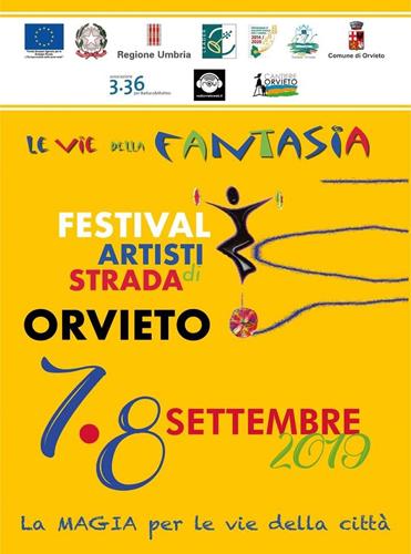 """Il Parco dei Cimini ad Orvieto per """"Le vie della Fantasia, Festival internazionale degli artisti di strada"""