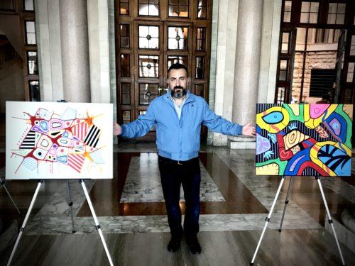 Art in Music, la mostra dell'artista e musicista Pasquale Colucci