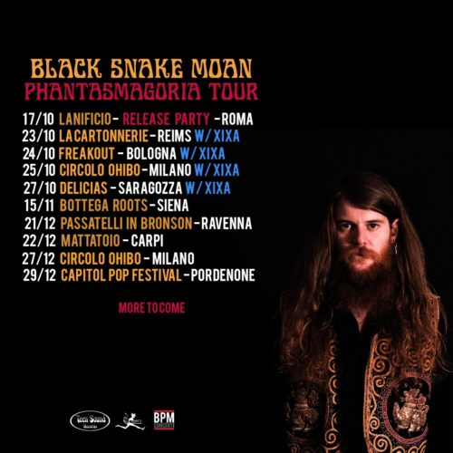 Black Snake Moan, le prime date del Phantasmagoria Tour