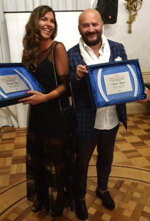 """Trionfo di Cultura e Vip al """"Premio Prestige per le Arti""""."""