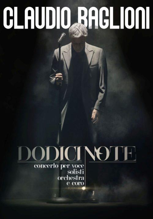 """Claudio Baglioni a Roma con """"Dodici Note"""", per la prima volta in assoluto 12 concerti alle Terme di Caracalla"""