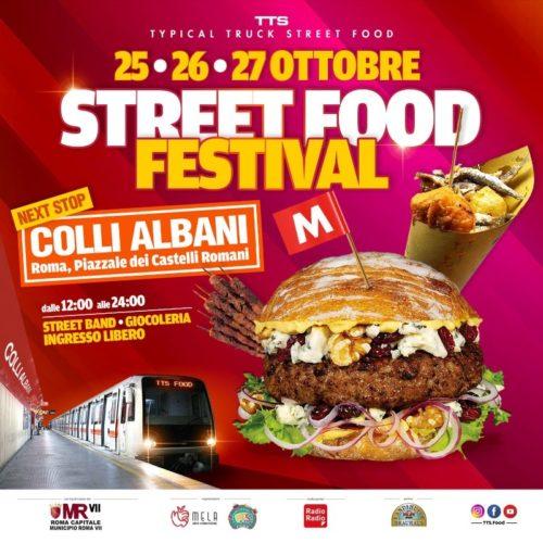 Colli Albani-Roma speciale ottobrata romana con il Festival Street Food