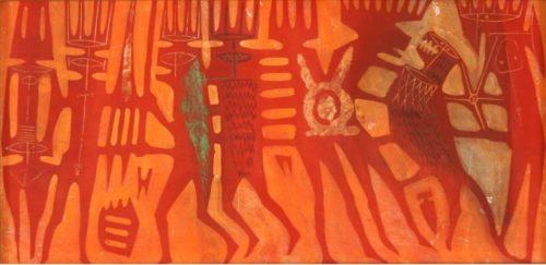 Corrado Cagli. Paura del Totem, la mostra alla Frittelli arte contemporanea di Firenze