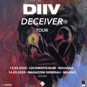 DIIV: due imperdibili date italiane con il nuovo album Deceiver