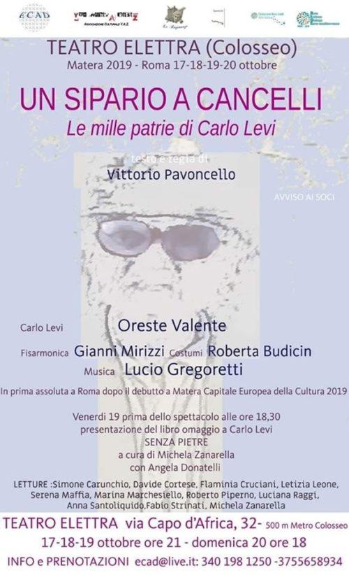 La vita di Carlo Levi in scena al Teatro Elettra di Roma