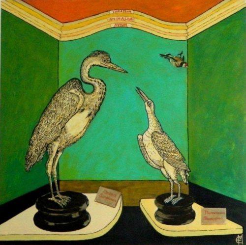 Atlante di zoologia fantastica, la mostra di Enrico Manicardi in arte Epifanio Mestica