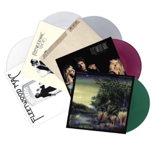 I classici album dei Fleetwood Mac saranno pubblicati su vinile colorato