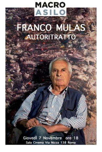 L' Autoritratto di Franco Mulas alla Sala Cinema del MACRO Museo d'Arte Contemporanea Roma