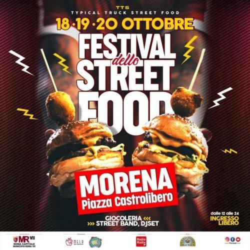 Il Festival Street Food dà appuntamento a Morena