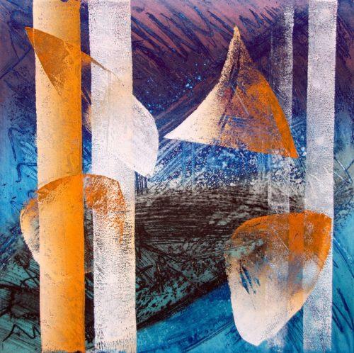 Immagini Stratigrafiche, la mostra di Anna Romanello a Podgorica