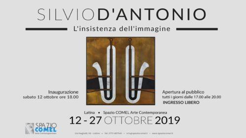 L'insistenza dell'immagine di Silvio D'Antonio allo Spazio COMEL di Latina