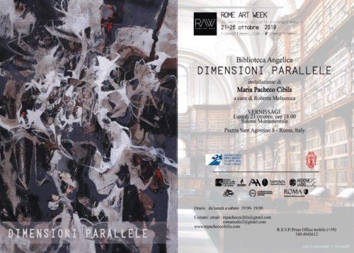 Dimensioni parallele, l'installazione dell'artista argentino-portoghese Maria Pacheco Cibils