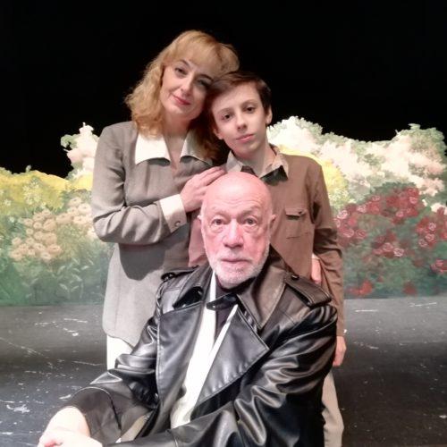 Oh Dio mio, lo spettacolo in scena al Teatro degli Audaci di Roma