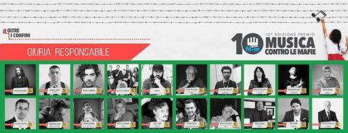 Annunciata la giuria della 10^ edizione del Premio Nazionale Musica contro le mafie