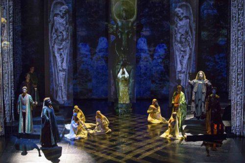 Trilogia d'Autunno 2019: presentazione cast e prove Aida