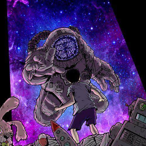 E' uscito The Man Who Crossed The Universe, il nuovo album degli Oldthink