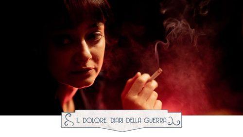 Il dolore: diari della guerra di e con Elena Arvigo in scena al Teatro Argot Studio di Roma