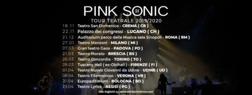 Al via da Crema l'European Pink Floyd Experience, il tour nei teatri d'Italia dei Pink Sonic