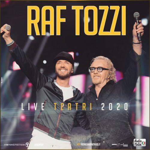 RAF e Umberto Tozzi: da marzo 2020 tornano in tour insieme nei teatri italiani