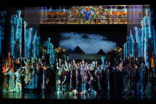 La seconda recita di Aida per il giro di boa della Trilogia d'Autunno