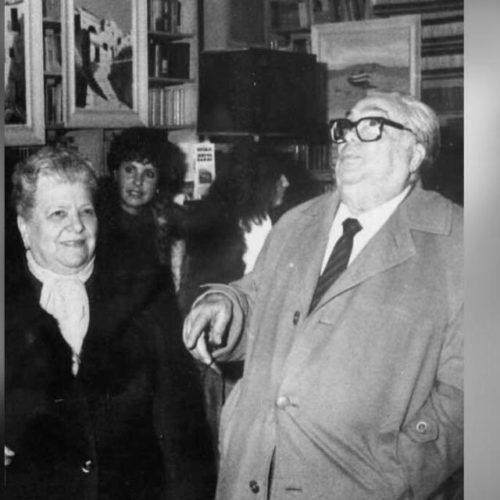 """Aldo e Elena Fabrizi. Cibo e teatro, dalla trattoria Sora Lella ad uno spettacolo inedito """"L'Acqua e la Farina"""""""
