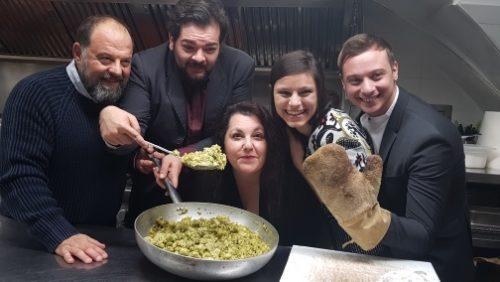 Aldo e Lella Fabrizi, insieme dalla cucina al teatro