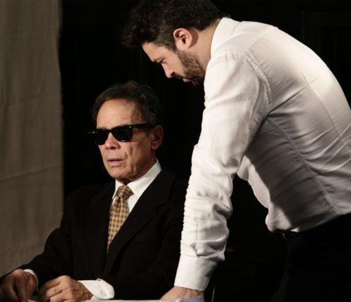 Ennio Coltorti in 'Buscetta, Santo o Boss?' di Vittorio Cielo in scena al Teatro Stanze Segrete di Roma