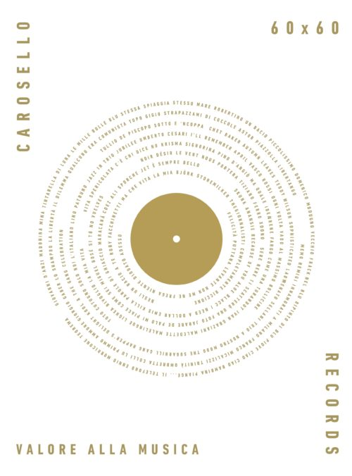 """""""Carosello Records 60×60 valore alla musica"""" il libro dei giornalisti Laffranchi e Pucci sarà presentato alla Milano Music Week"""