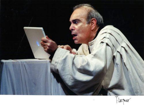 Edipo… seh! Uno scherzo da Sofocle di Andrea Tidona in scena al Brancaccino di Roma