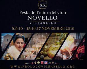 Festa dell'olio e del vino novello di Vignanello: il programma dell'ultimo fine settimana