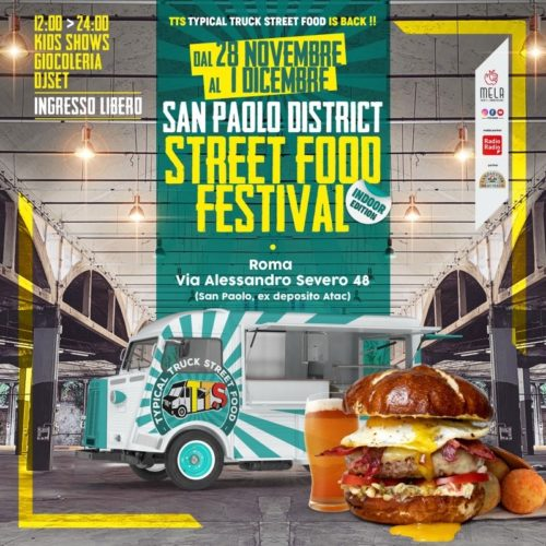 Festival Street Food-San Paolo District