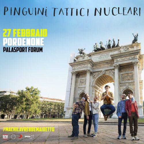 I Pinguini Tattici Nucleari al Palasport Forum di Pordenone