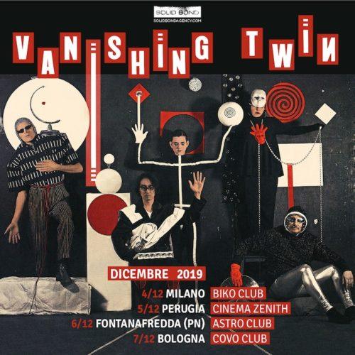 I Vanishing Twin in Italia per quattro date per presentare The Age Of Immunology